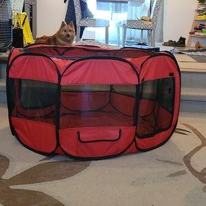 Dog Playpen indoor/ outdoor